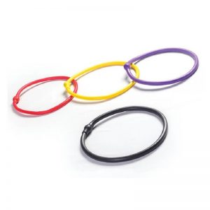 Elastic tube rings