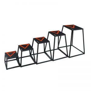 Plyometric steel box
