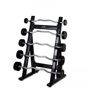 Barbell rack 5 places