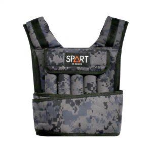 Weight vest camouflage