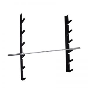 Barbell wall rack 6 bilancieri