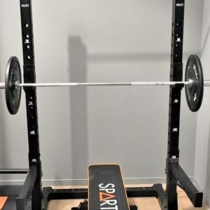 Squat rack con pull up bar