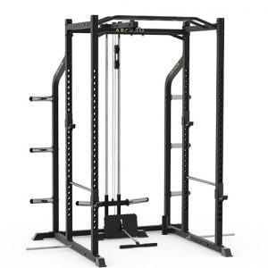 Plate loaded power rack