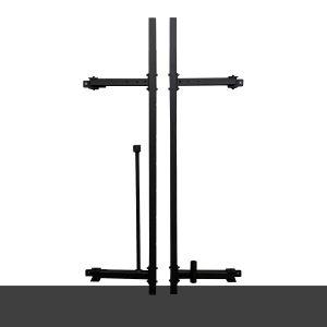 Squat rack a parete
